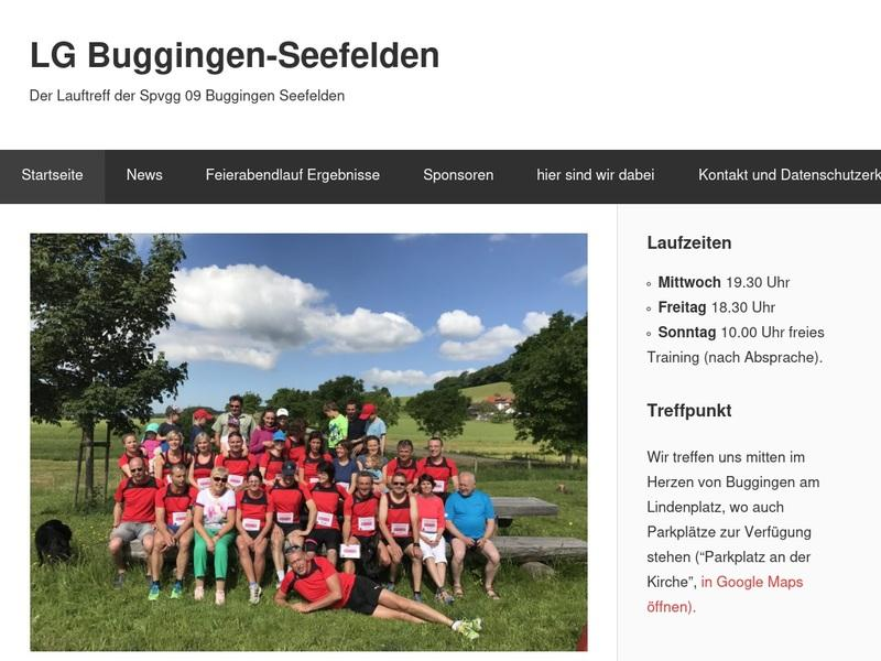 Screenshot von www.lg-buggingen.de